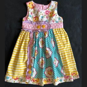 Girls Bright Dress